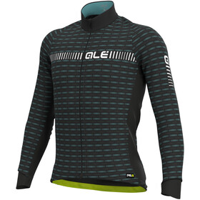 Alé Cycling Graphics PRR Green Road Winter Longsleeve Jersey Heren, black/white